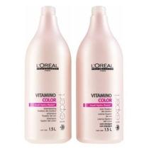 Kit Loréal Vitamino Color Shampoo 1,5l & Condicionador 1,5l