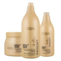 Loreal Kit Absolut Repair Litro (3 Produtos)
