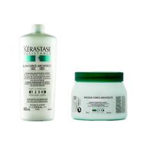Kérastase - Shampoo 1l E Máscara 500g Force Architecte