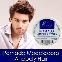Pomada Modeladora Anaboly Hair 120g Com Filtro Solar +brinde