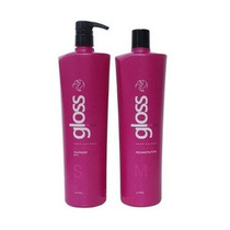 Fox Gloss Escova Progressiva Semi Definitiva 2x1 Litro