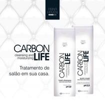 Shampoo E Máscara Anna Haven Carbon Life 295ml