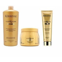 Kit Kerastase Elixir Shampoo 1l + Bbcream + Mascara 500g