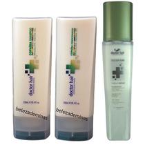 Copaíba Shampoo Condicionador E Bifásico Xtreme Doctor Hair
