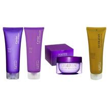 Kpro Kit Caviar Shampoo + Condicionador + Mascara + Queratan