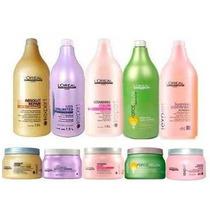 Loreal Shampoo,condicionador Ou Máscara + Valvula De Brinde