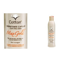 Hidratante Max Gold Cotton - 340 Ml