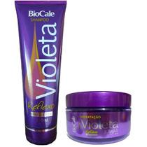 Shampoo + Mascara Violeta Light Biocale