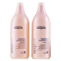 Loréal Lumino Contrast Shampoo & Condicionador 2x1500ml