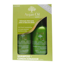 Inoar Duo Argan Oil System Kit Pos Progressiva 250ml