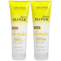 Go Blonder John Frieda - Kit Shampoo+ 2 Condicionadores