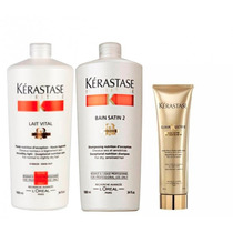 Shampoo Kerastase 1l + Cond. + Elixir Ultime Bb Cream 150ml