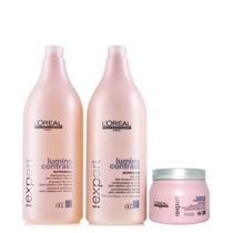 Loréal Lumino Contrast Shampoo + Condicionador + Máscara