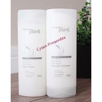 Natura Plant Shampoo + Condicionador Cabelos Liso E Solto