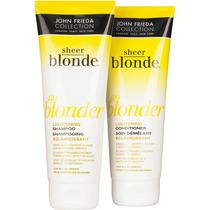 Shampoo Ou Condicionador John Frieda Sheer Blonde Goblonder
