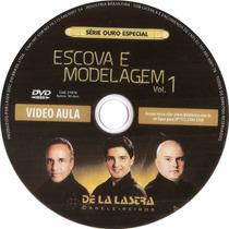 Curso De Cabeleireiro Escova E Modelagem São 2 Dvd,s