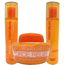 Kit De Manutenção Force Relax 3 Itens 250ml
