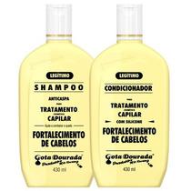 Kit Shampoo E Condicionador Gota Dourada Fortalecimento 430m