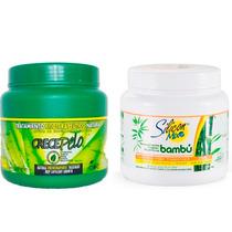 Mascara 794g Crecepelo + Silicon Mix Bambu 1kg Exclusivo