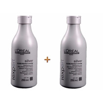 Shampoo Loréal Profissional Silver Desamarelador 250 Ml (2)
