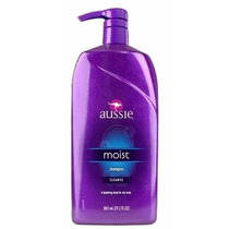 Aussie Shampoo Moist 2 Em 1 865ml