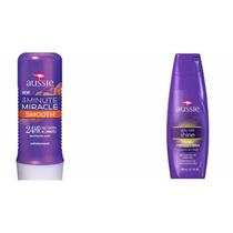 Kit Aussie - Shampoo Shine + Máscara Smooth - Original !!!