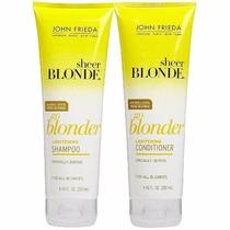 John Frieda Sh+condicionador Sheer Blonde Go Blonder 250ml