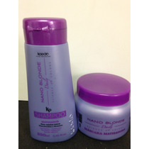 Kit Nano Matizador Blonde Sh/masc 250ml