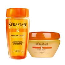Kerastase Nutritive Oleo Relax Kit Sh 250ml + Mascara 200g