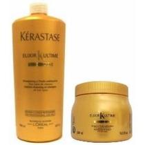 Kerastase Shampoo 1 L + Masque 500grs Elixir Ultime