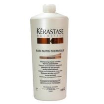 Kerastase Nutritive Shampoo Bain Nutri Thermique 1l + Brinde