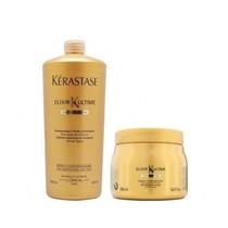 Kérastase Shampoo Elixir 1l + Máscara 500g Elixir Ultime