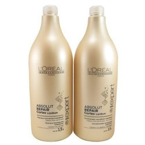 Kit Shampoo 1,5l + Condicionador 1,5l Loréal Absolut Repair