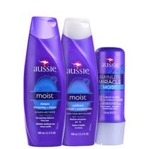 Kit Aussie Moist Produto 100% Importado - Pronto Entrega