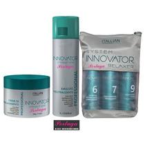 Kit De Relaxamento Innovator Straight Hair 3 Itens