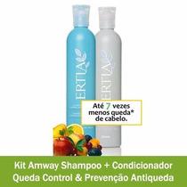 Amway Kit Shampoo E Condicionador Queda Control & Prevenção