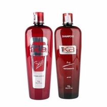 1ka Kit Steel Progressiva Thermo Acrílica S/ Formol 2x1l