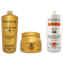 Kérastase - Elixir Ultime - Shamp 1lt + Másc 500g E Cond 1lt