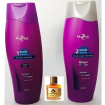 Kit Mairibel Shampoo E Condicionador Moist 350 Ml + Brinde