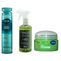 Mix Use Inter Resist Shampoo 240ml + Clarifyng + Power Hair