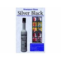 Shampoo Gloss Silver Black Cabelos Brancos Grisalhos Coiffer