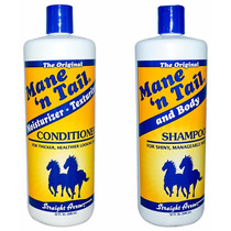 Kit Mane ´n Tail Cavalo Shampoo 946ml + Condicionador 946ml