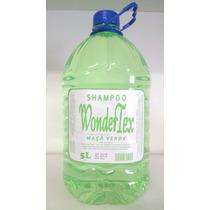 Shampoo Wonder Tex Maçã Verde Lavatório Galão 5 Litros