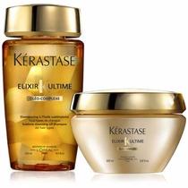 Kit Kerastase Elixir Ultime-shampoo 250ml+mascara 200gr+bri