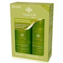 Inoar Argan Kit Shampoo E Condicionador Hidratante 250 Ml