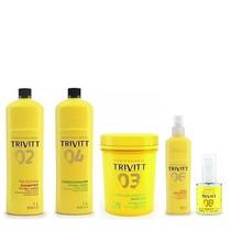 Trivitt Profissional Shampoo,condicionador,máscara, Nº 6 E 8