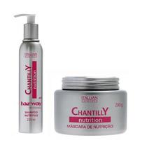 Chantilly Nutrition Shampoo E Máscara Hidratação.