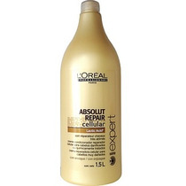 Loréal Absolut Repair Cellular Shampoo Reparador 1500ml