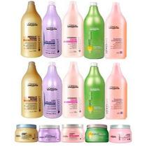 Loreal Shampoo 1,5l + Condicionador +mascara 500g+ 1 Valvula