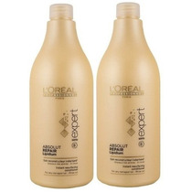 Loreal Absolut Repair Lipidium Shampoo+ Condicionador 1500ml